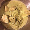 Emincé de poulet sauce moutarde estragon - companion