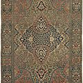 Claremont rug company names best of the best antique rugs sold in 2015 with online gallery exhibition
