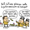 Haïti, polémique, aéroport, etats-unis, joyandet et farces françaises