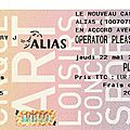 Operator please - jeudi 22 mai 2008 - nouveau casino (paris)