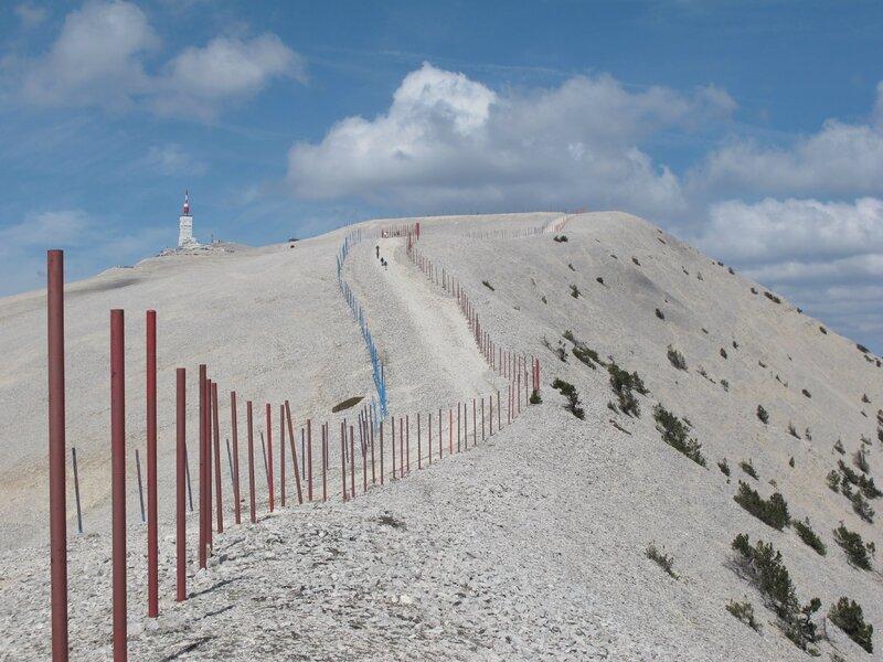 Mont Ventoux, 1911m.