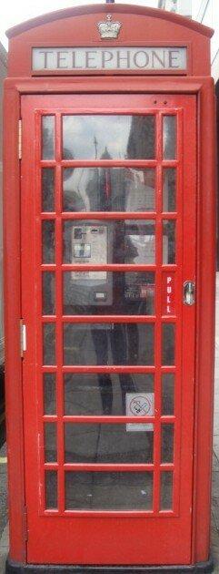 cabine téléphone