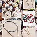 Apprendre à tricoter : les outils de la tricoteuse