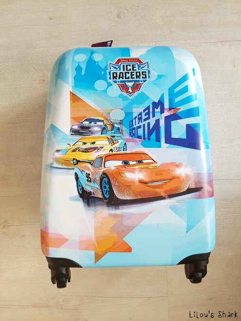 valise bagage main cars coque