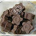 Chocolats aux éclats d'amandes