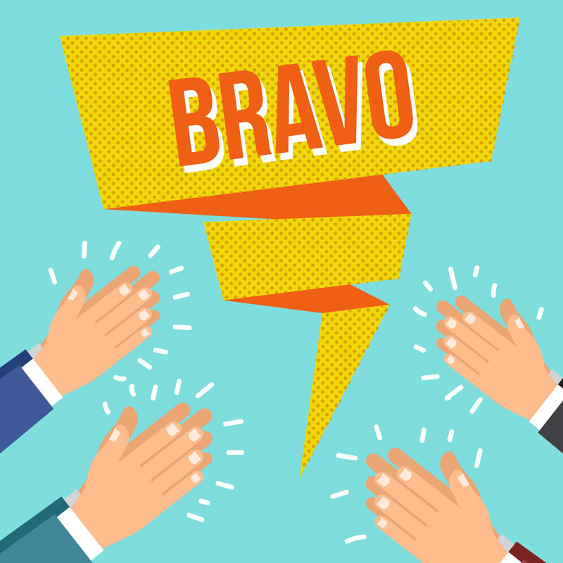 flat-bravo-hands-clapping-vector