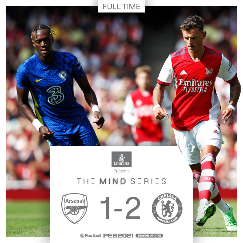 Arsenal 1 - 2 Chelsea ( Match Amical )