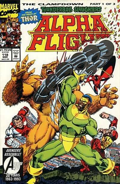 alpha flight 118