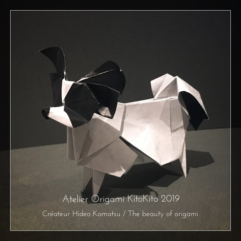 Atelier Origami KitoKito Papillon1_Chien