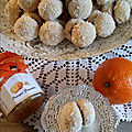 Boules coco choco et orange