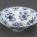 Bowl with foliate rim, 1426-1435, ming dynasty, xuande reign