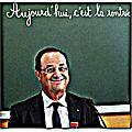 François hollande confirme qu'il n'abandonne pas la vie politique