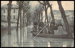 Inondations 1910 Bry sur Marne