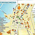 Plan du centre ville Djibouti