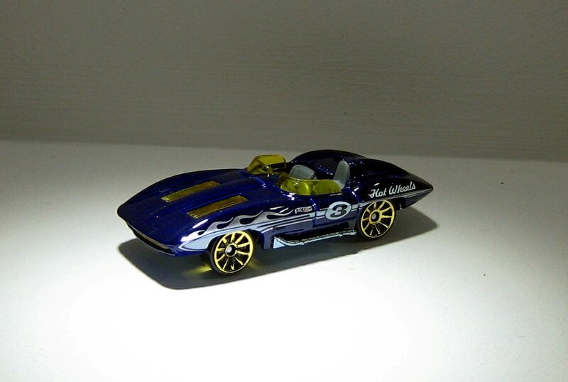 Chevrolet corvette stingray (Hotwheels 2012)