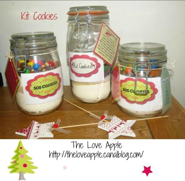 Kit cookies : Le cadeau gourmand à offrir !