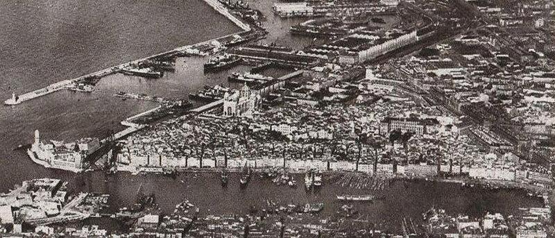 Les Vieux Quartiers en 1930
