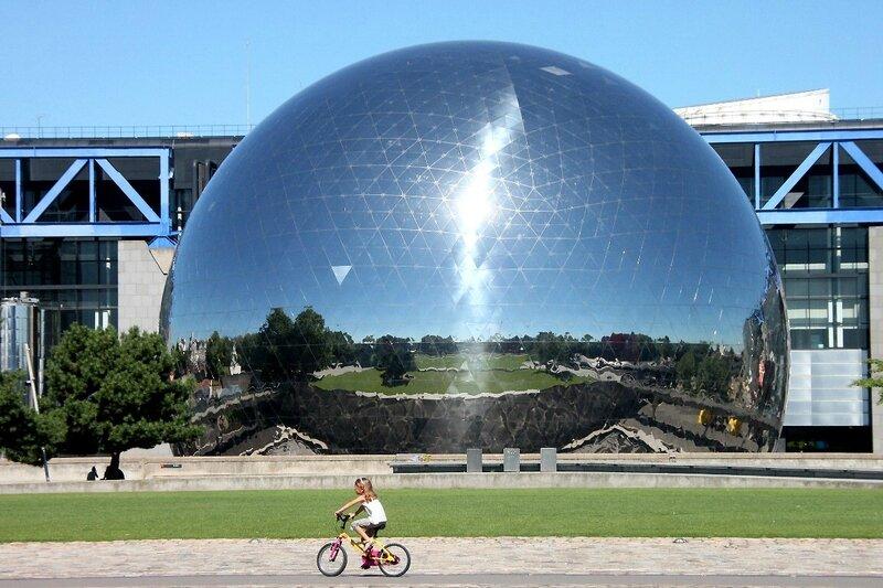 3-vélo, Géode, la Villette_5774