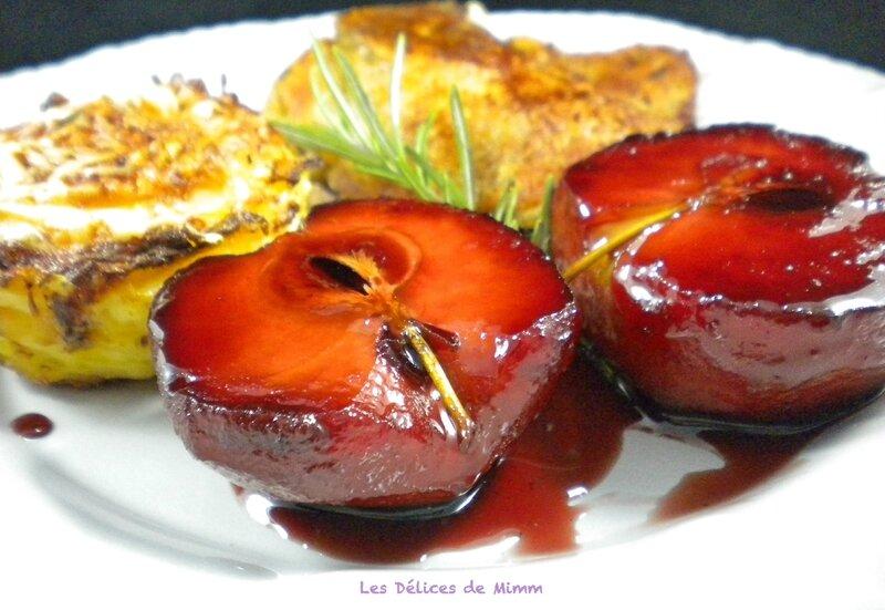 Cuisses de canard confit aux pommes d'amour 4