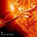 En vidéo : l'énorme éruption solaire du 7 janvier