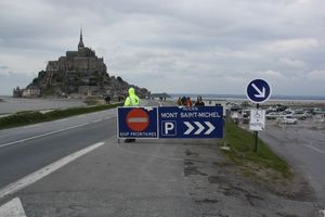 le Mont-Saint-Michel parking