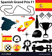 SPANISH GRAND PRIX 2018 FLAG 1