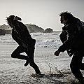 Jénorme course un plaqueur fou sur la plage de Biarritz (64) par ArnoFoto