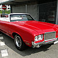 Oldsmobile cutlass supreme convertible-1972
