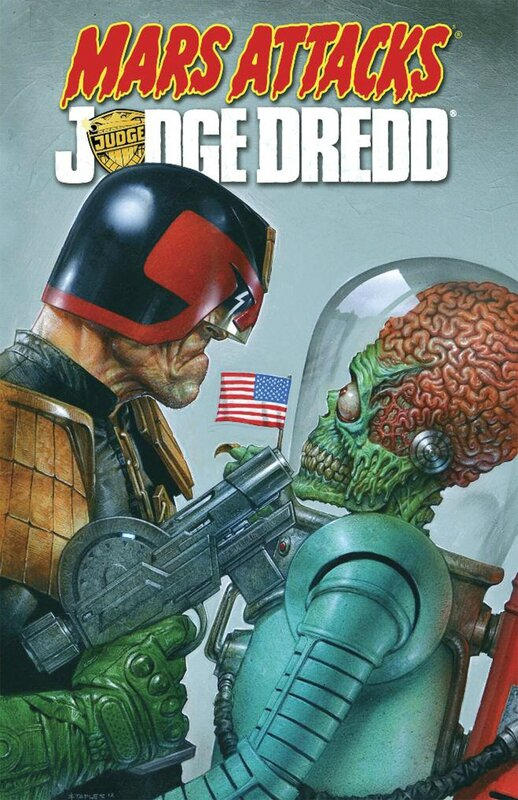 IDW mars attacks judge dredd TP