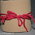 bracelet coton fushia b