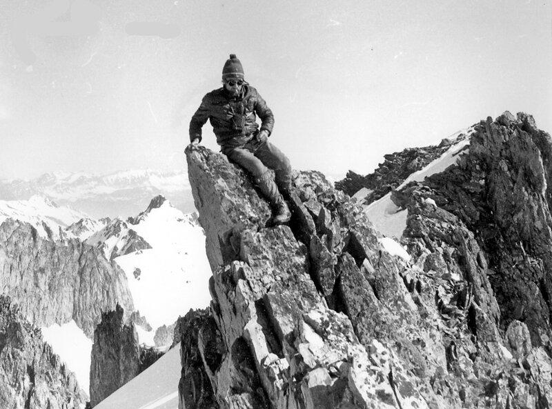 Pic dela Lauzière à ski 26 avril 1975