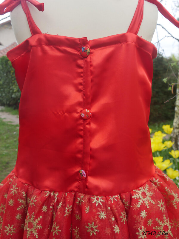 P&M Babydoll dost rouge