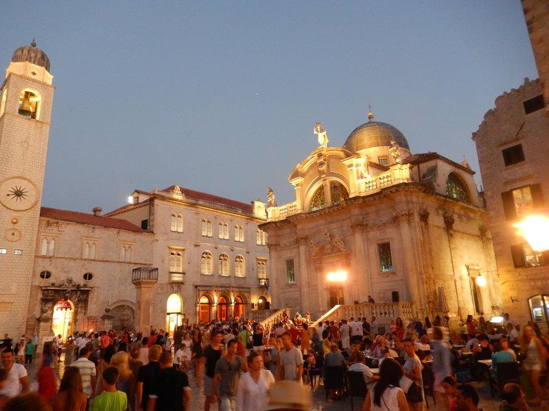 Dubrovnik, la cathédrale, 3 août 2013