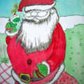 CHRISTMAS ARTCRAFT AND PAINTINGS