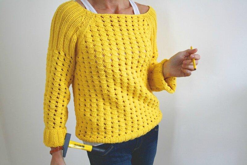 comment avoir choisissez le dégagement économies fantastiques Pull femme jaune | Lafermemaillard