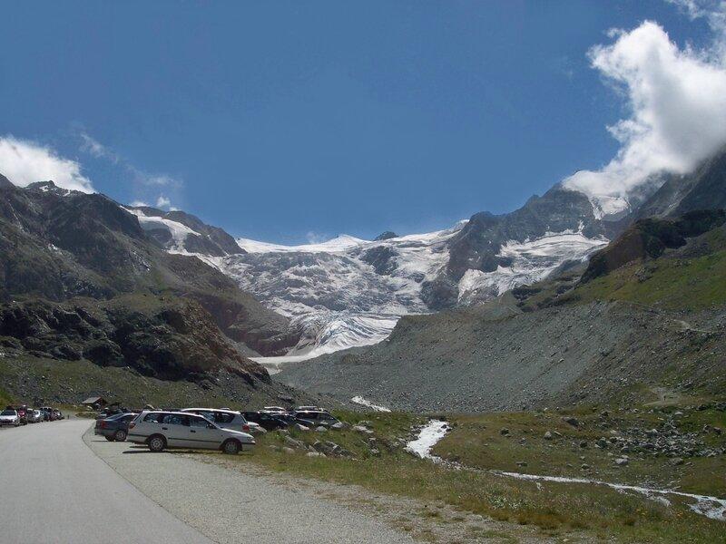 glacier dent blanche
