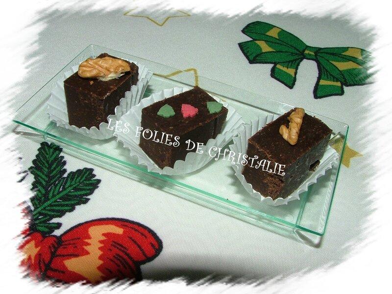Cubes chocolat marrons 9