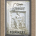 Champagne pommery louise