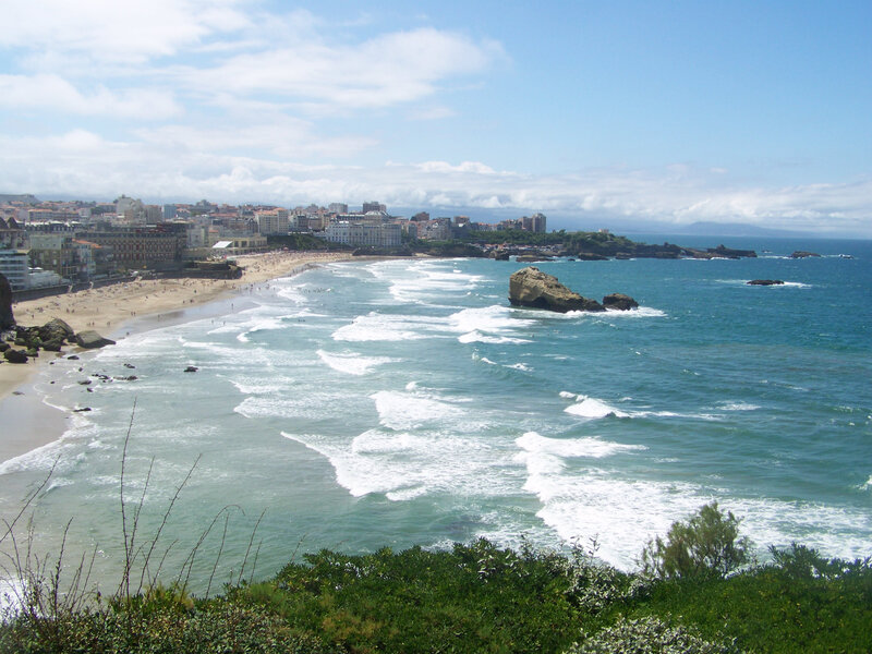 Biarritz-Plage, 15 August 2011 (auteur:author Florian Pépellin)