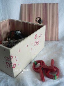 Boîte Pinces détail 4