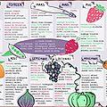 Calendrier fruits & legumes