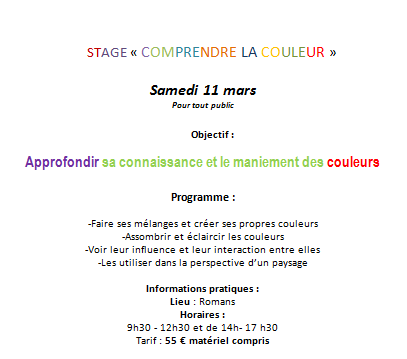 couleur stage