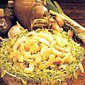 Salade de macaronis aux champignons