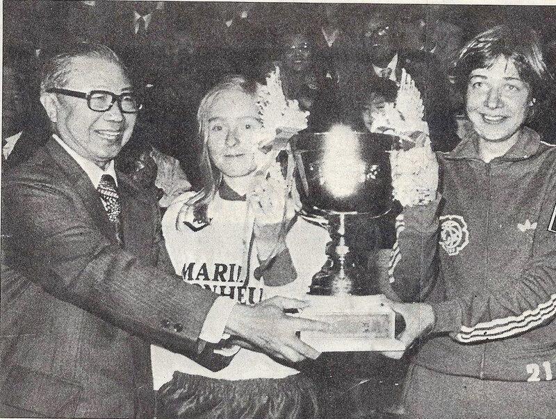 Photo 1978 CM Taïwan Remise Coupe Reims HJK Helsinki