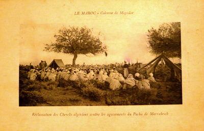 ReclamationsChecks_AlgeriensContre_AgissementsPacha_Marrakesch