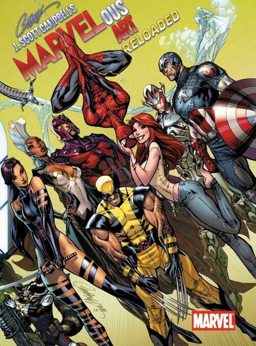 j scott campbell marvelous art reloaded
