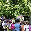 Changement de décor : nous sommes le 12 juin, en forêt d'Issaux