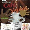 Café-signes, 8 janvier 2016