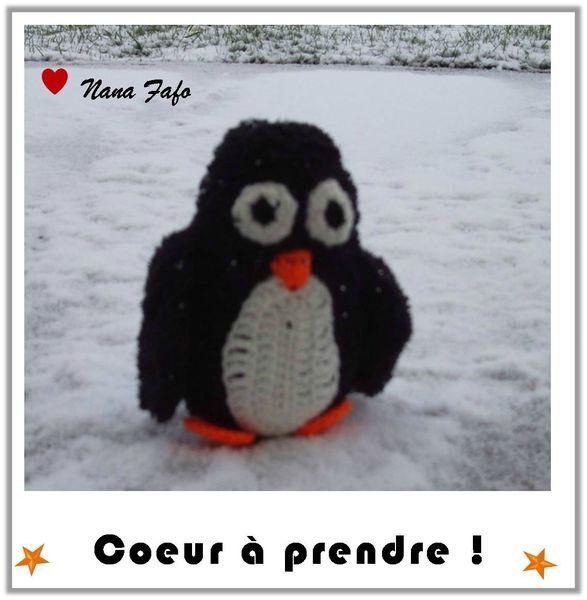 Pingouin au crochet 01
