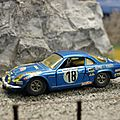 Alpine a 110 berlinette 1600. solido. #181. 1/43.
